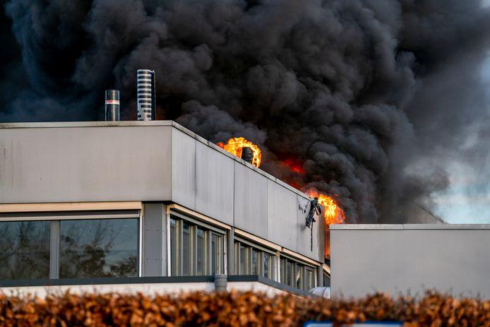 Brand bij huisartsenpraktijk in Oosterhout