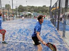 'Padel is geweldig, want veel minder belastend dan tennis'