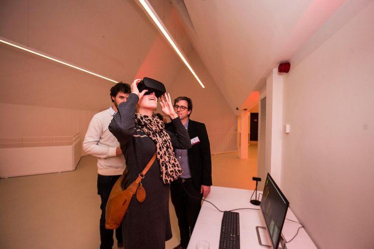 DIVA wil ook via virtual reality bezoekers informeren.
