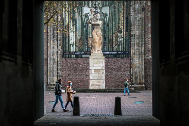 Het verzetsmonument in Utrecht.  Beeld Fouad Hallak