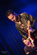 De Italiaanse bluesgitarist Dany Franchi