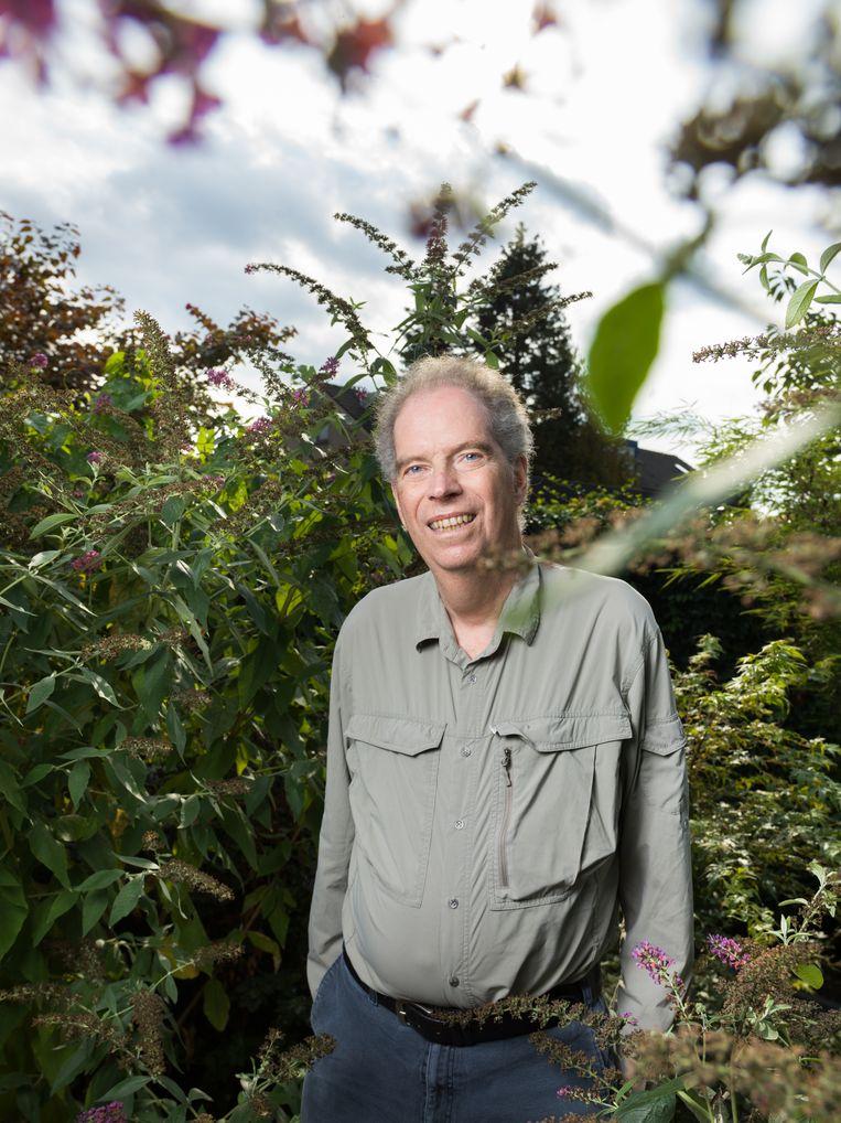 Geert Jan van Oldenborgh werd door tijdschrift Time in 2021 uitgeroepen tot één van 's werelds invloedrijkste personen.  Beeld Ivo van der Bent