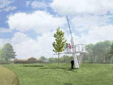 Kunstproject brengt duikplank terug in park Kienehoef in Sint-Oedenrode