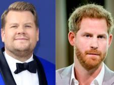 Prins Harry neemt Carpool Karaoke op met tv-presentator James Corden
