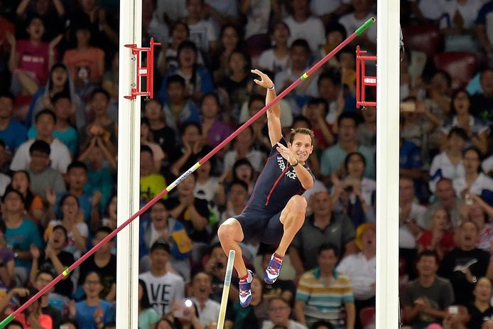 Olympisch kampioen Lavillenie kwam niet verder dan 5m80