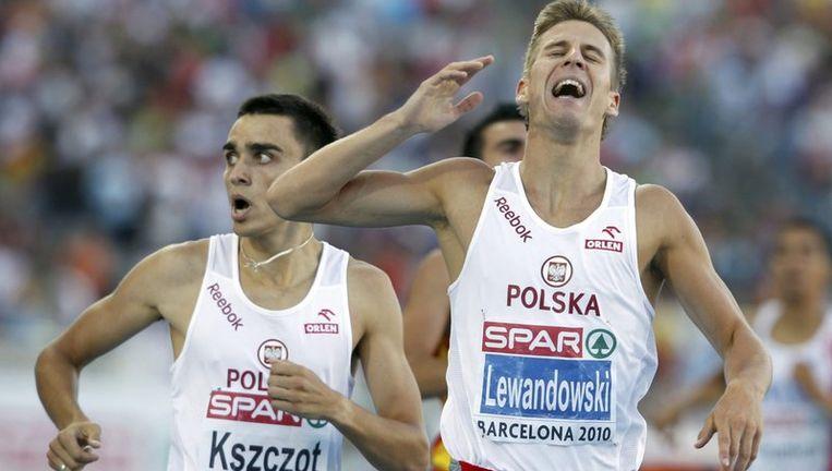 De Pool Marcin Lewandowski pakte de Europese titel op de 800m. Beeld UNKNOWN