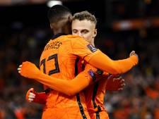 """Noa Lang a séduit pour ses premiers pas avec les Oranje: """"Mon objectif? La Coupe du monde"""""""