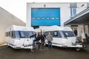 Familiebedrijf Welten Caravans: (vlnr) Ad Welten, Mark Welten en John Welten.