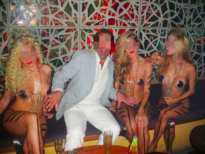 Ben D. opende in Antwerpen de dansclub Näked Club.