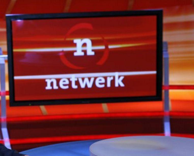 Het decor van het programma Netwerk. ANP Beeld