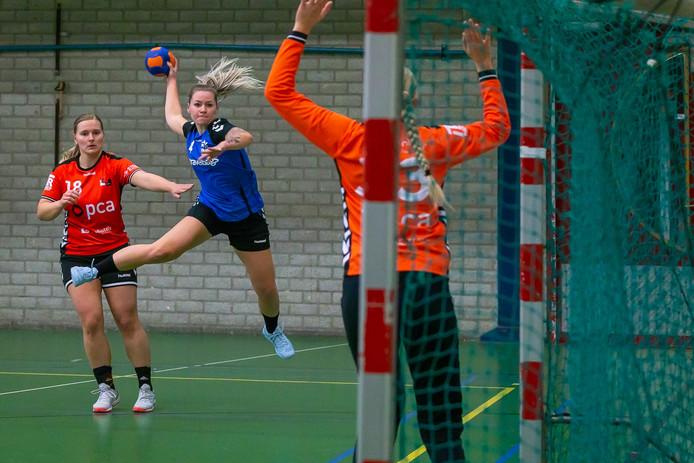 In aanvallend opzicht - met bijvoorbeeld Michelle Mennink - maakte HV Zwolle een behoorlijke indruk tegen Kwiek.