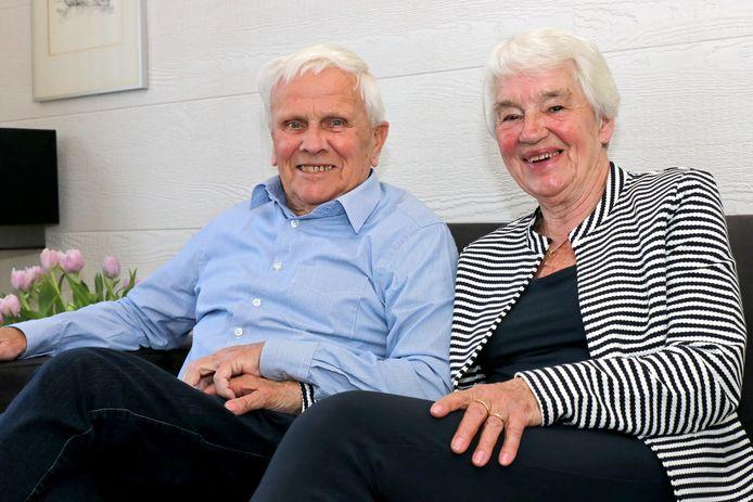 Luc Eikelboom en Marga van Deventer zijn zestig jaar getrouwd.