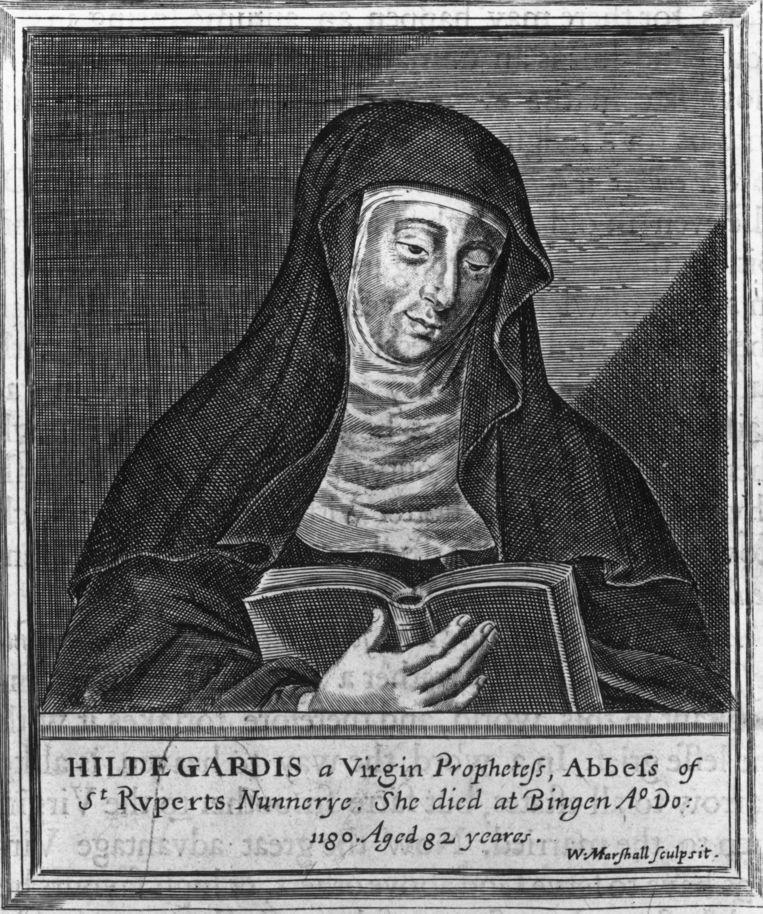 Hildegard von Bingen Beeld Getty Images