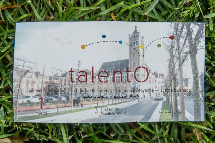 De gemeenschapsmunt TalentO