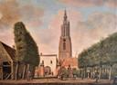 De niet meer bestaande Utrechtse Poort door Jordanus Hoorn.