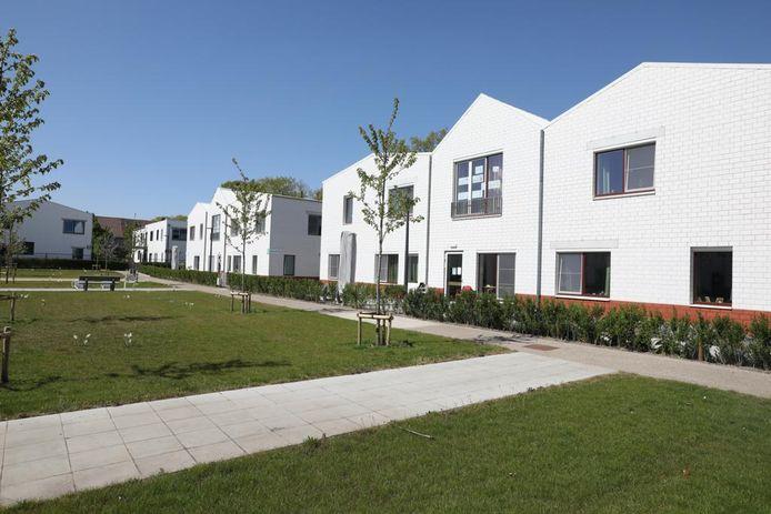 Een beeld van het woonzorgcentrum Mandana in Genk.