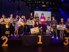Sjors, Rowan, Tim en Bregje in de prijzen bij Brabantse Kunstbende