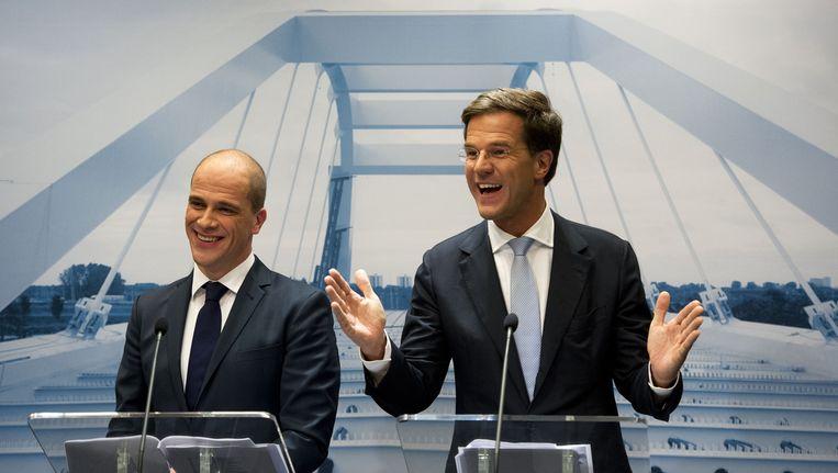 In coalitieland Nederland moet je compromissen sluiten met politieke tegenstanders, water bij de wijn doen. Beeld anp