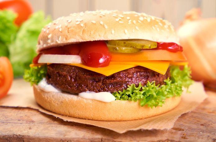 Hamburger van burgerme.