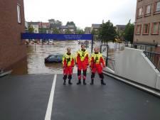 Stefan redt ouderen uit huizen in overstroomd Valkenburg, 'Hier oefen ik al meer dan 20 jaar voor'
