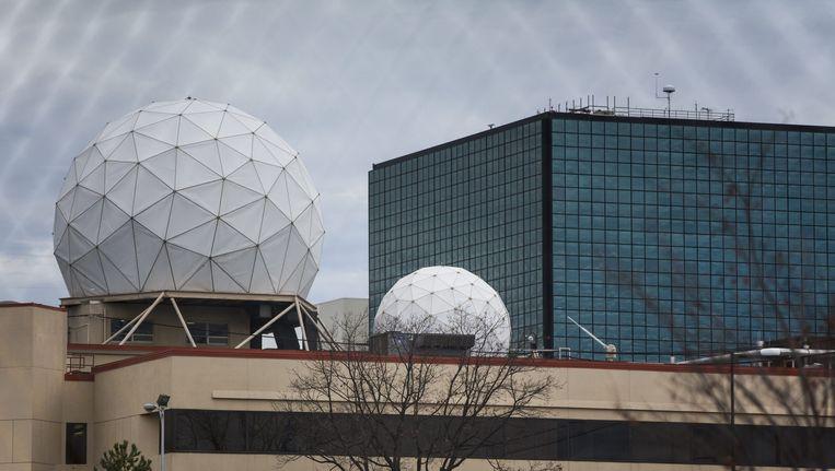 Het NSA-hoofdkantoor. Beeld epa