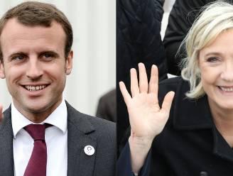 Dit zijn de definitieve cijfers: Macron haalt 24,01 procent, Le Pen 21,3 procent