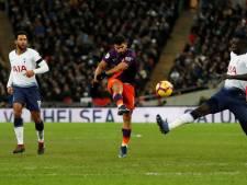 City ook op horrorveld te sterk voor Spurs