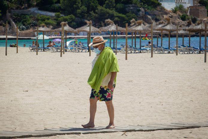 De Balearen, waaronder ook Mallorca, kleuren momenteel oranje. Er is geen quarantaineplicht voor reizigers die terugkeren.