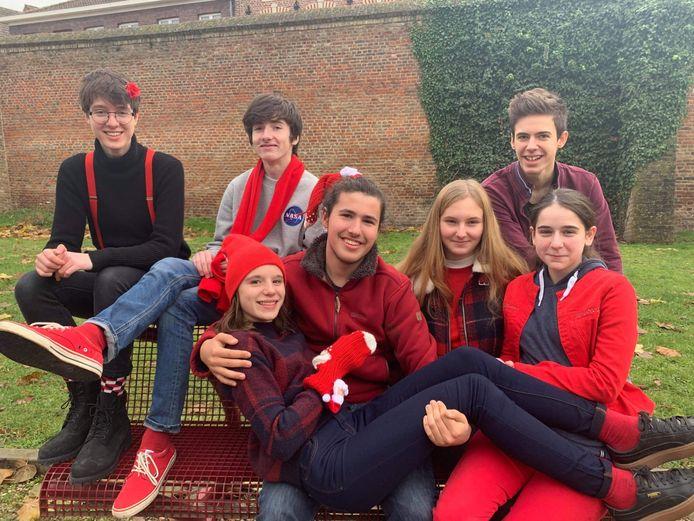 Op Rode Neuzen Dag sloeg ook Hasp-O Centrum rood uit voor #generationstronger.