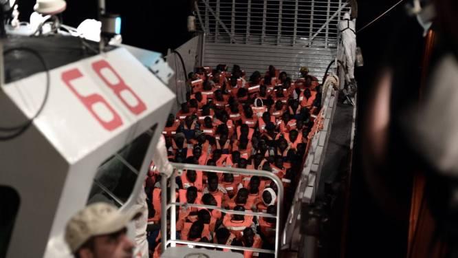 Meer dan 600 bootvluchtelingen in één nacht gered op Middellandse Zee