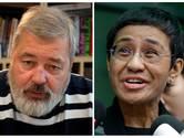 Le prix Nobel de la paix décerné aux journalistes Maria Ressa et Dmitry Muratov
