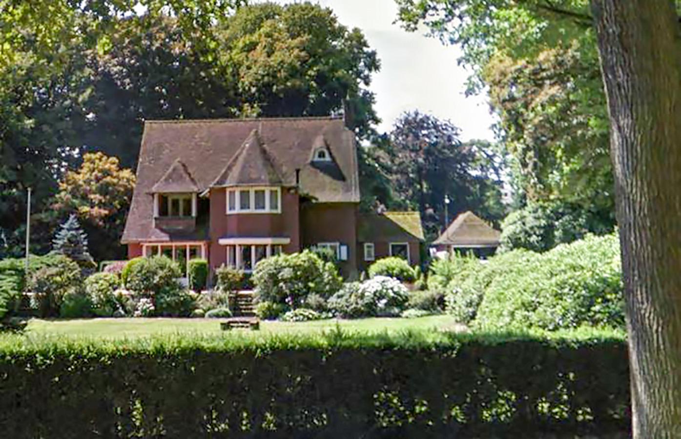 De oude villa in Tilburg.