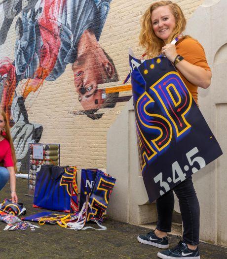 Oude banners van Paaspop keren terug als rugzak of riem