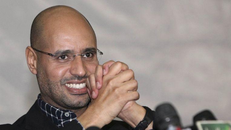 Saif al-Islam Kaddafi in 2010. Beeld epa