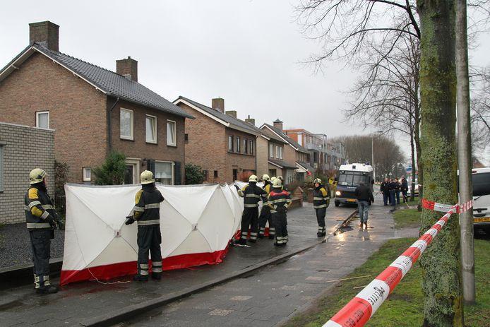 Aan de Berghemseweg in Oss werd op 1 januari 2013 het levenloze lichaam van Marja Nijholt gevonden.