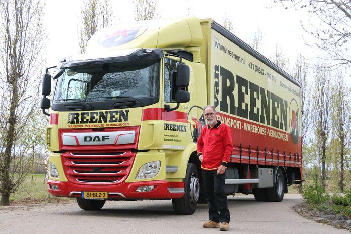 Dirk Jan van Diggele rijdt nu op een bakwagen voor Van Reenen Transport Barneveld.