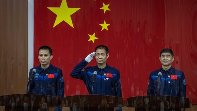 China stuurt deze week eerste bemanning naar nieuw ruimtestation Tiangong