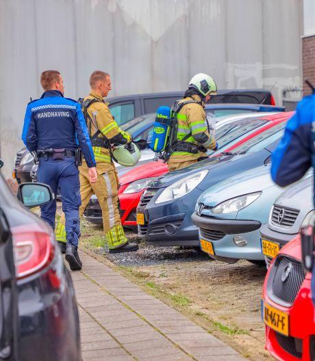 Politie houdt na tip over 'vreemde lucht' vier verdachten aan in drugslab in Amersfoort
