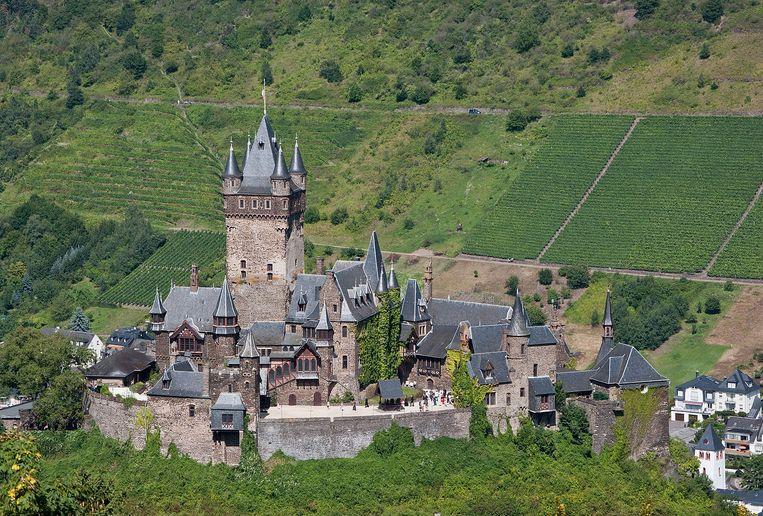 De burcht van Cochem. Beeld Wikipedia Commons met Steffen Schmitz