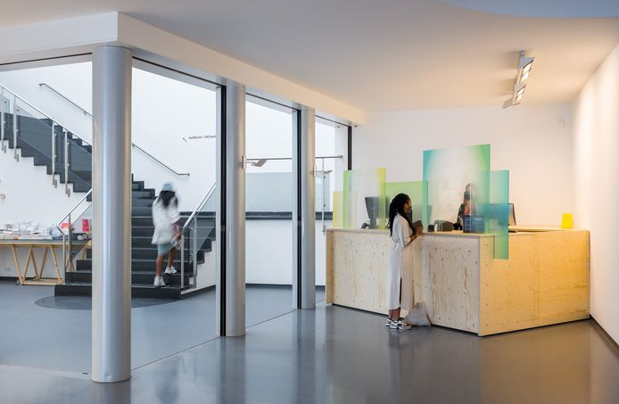 Entree Van Abbemuseum in Eindhoven