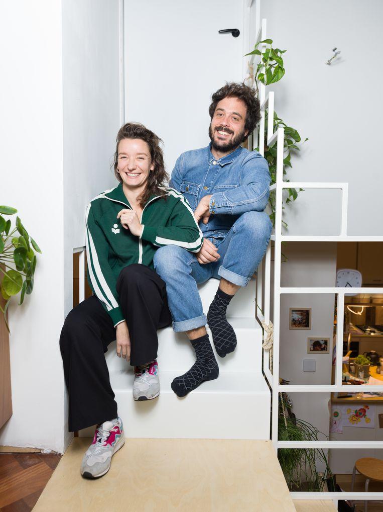 Sabine Lubbe Bakker en Niels van Koevorden Beeld Ivo van der Bent