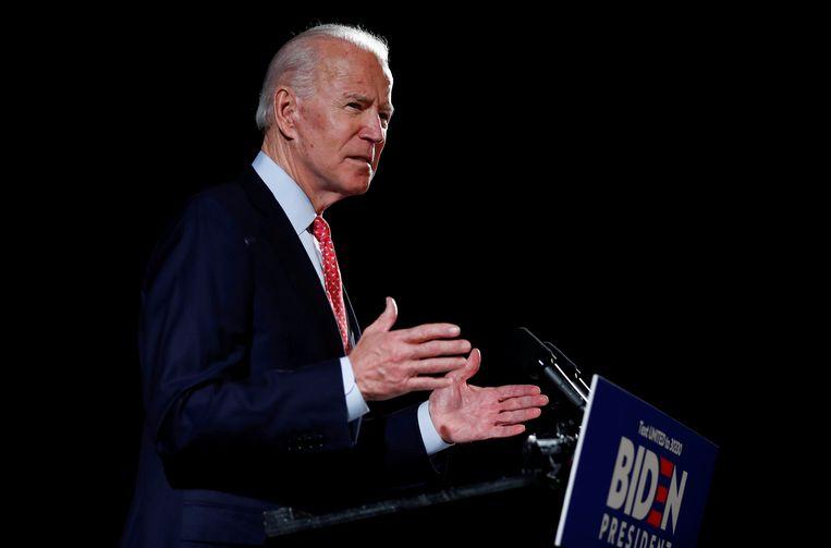 De Democratische presidentskandidaat Joe Biden Beeld REUTERS