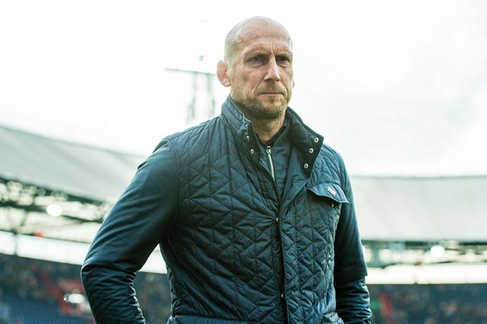 Jaap Stam zag Feyenoord ook punten morsen tegen Heracles Almelo.