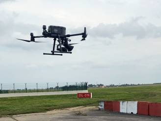 Drones met roofvogelgeluiden moeten vogels uit de buurt van vliegtuigen houden