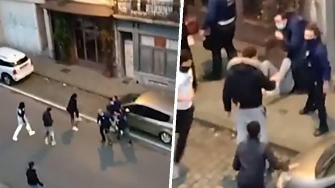 Agenten geschopt en geslagen terwijl ze man proberen arresteren tijdens coronacontrole in Elsene: verdachten vrijgelaten