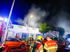 Woning in brand in Hendrik-Ido-Ambacht, bewoners in veiligheid