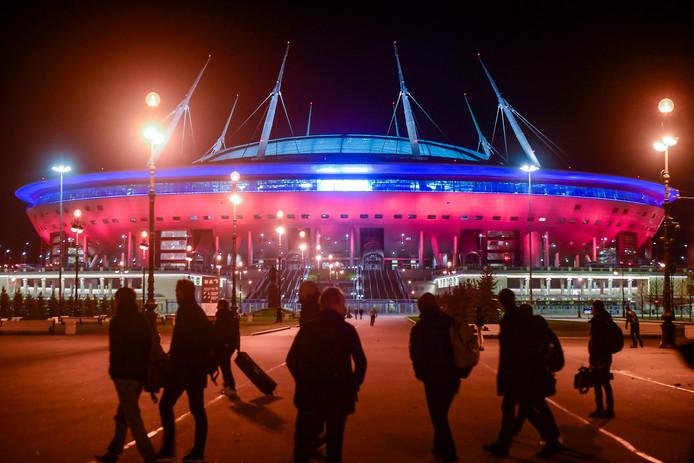 Le stade de Saint-Pétersbourg.