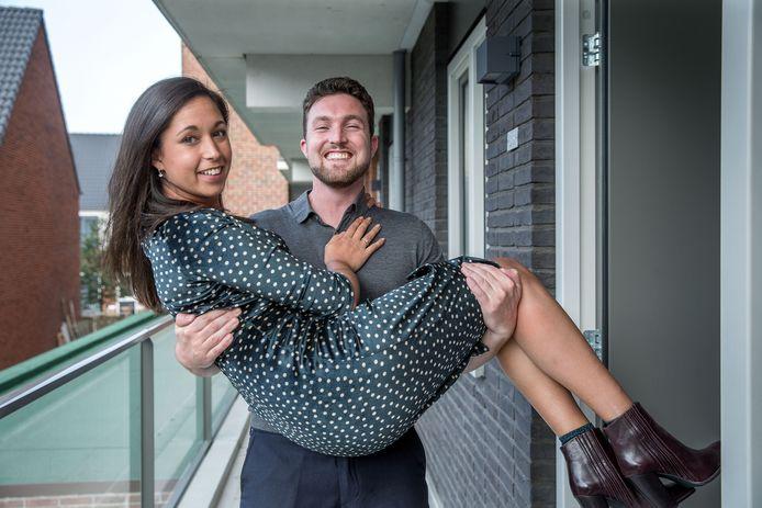 Koen en Yamila trouwen volgend jaar in beperkte gemeenschap van goederen.
