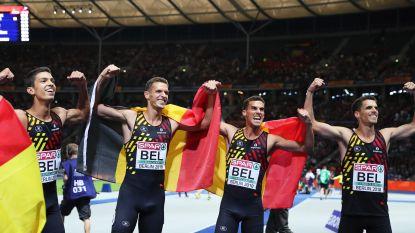 EK atletiek. Goud! Belgian Tornados imponeren in 4x400m-finale en snellen naar Europese titel in Berlijn -  Cheetahs worden knap vierde