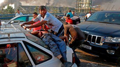 """Groot wantrouwen onder Libanezen: """"Dit was een bijna strategische explosie"""""""